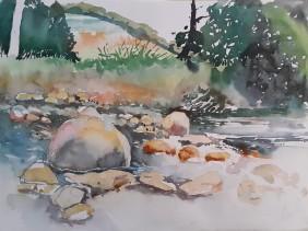 Lourens River in Radloff Park