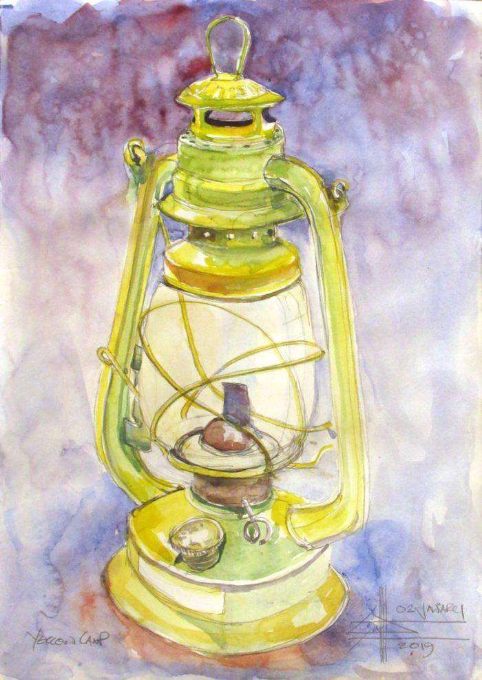 Paraffin lamp