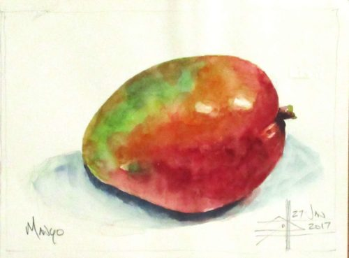 Mango still life