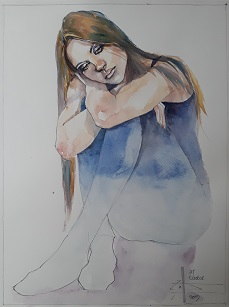 Figure in Watercolour